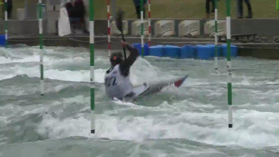 Grigar Jakub - FINAL Run | 2015 ICF Canoe Slalom Ranking - Markkleeberg