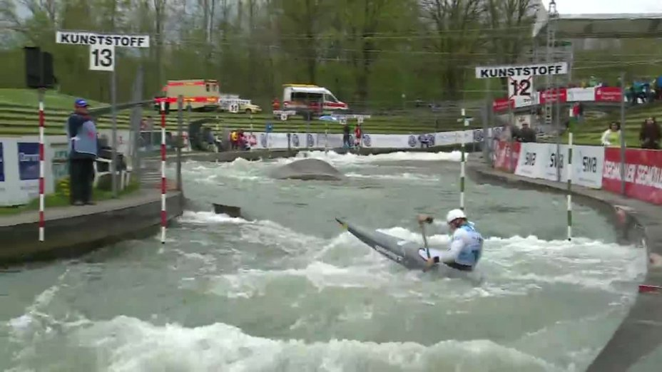 Sideris Tasiadis - Quali 2015 |Rennen 3|C1-Herren-Finale / Augsburg