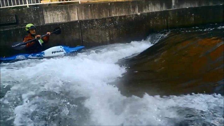 Hildesheim - Wildwasseranlage Bischofsmühle - Vereinstraining