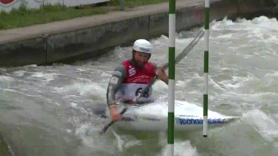 Tobias Kargl - Quali 2015 |Rennen 3|K1-Herren-Finale / Augsburg