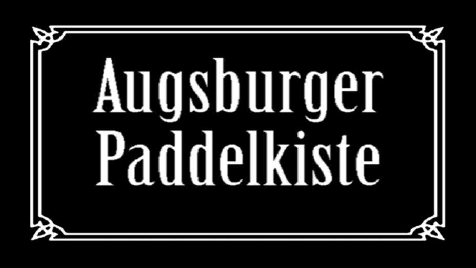 Augsburger Paddelkiste 1983