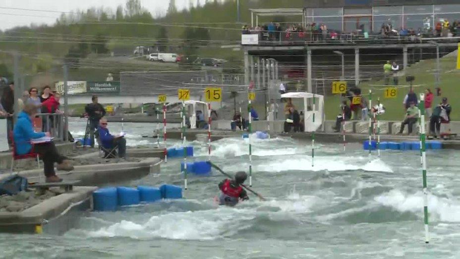 Tim Maxeiner - Quali 2015 |Rennen1|K1-Herren-Finale / Markkleeberg