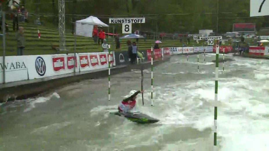 Alexander Grimm - Quali 2015 |Rennen 4|K1-Herren-Finale / Augsburg