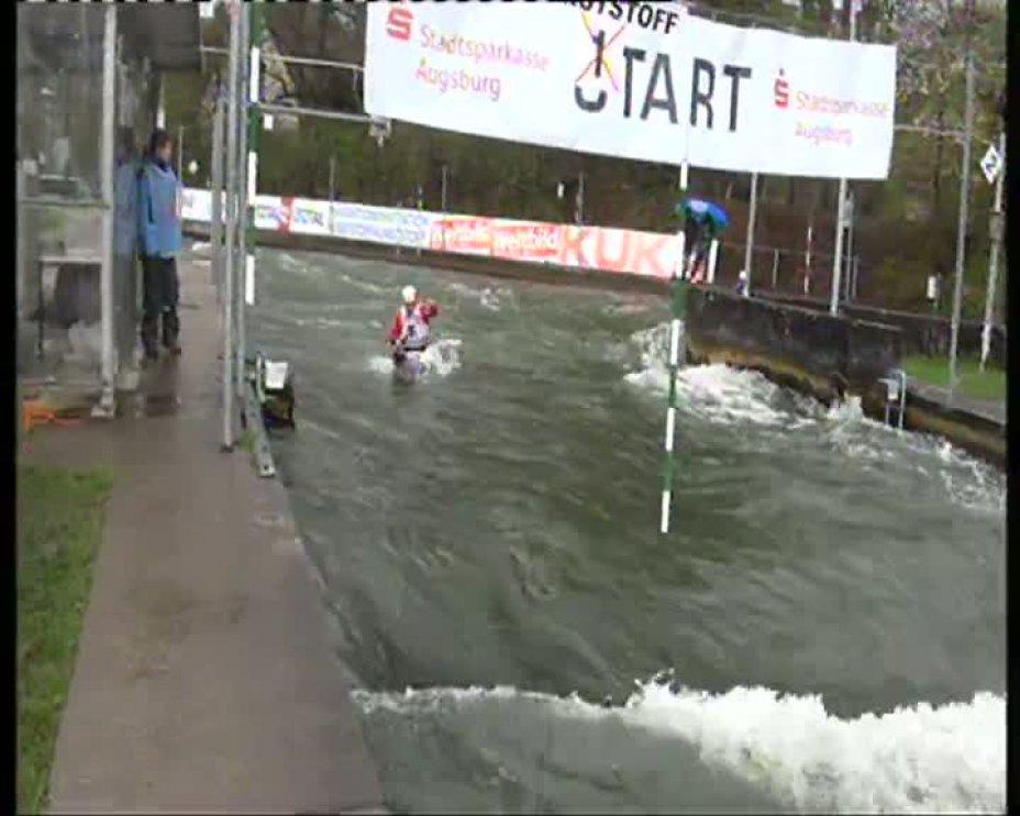 Franz Anton Olympia-Quali 2012 A-Finale C1 22.04.2012