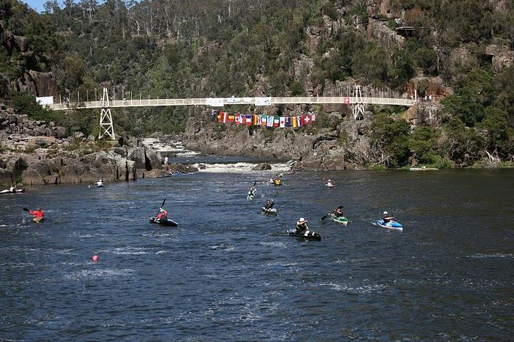 Wildwasser Weltcup Cataract Gorge (Tasmanien)