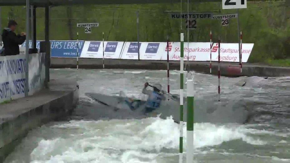 Florian Beste - Quali 2015 |Rennen 3|C1-Herren-Finale / Augsburg