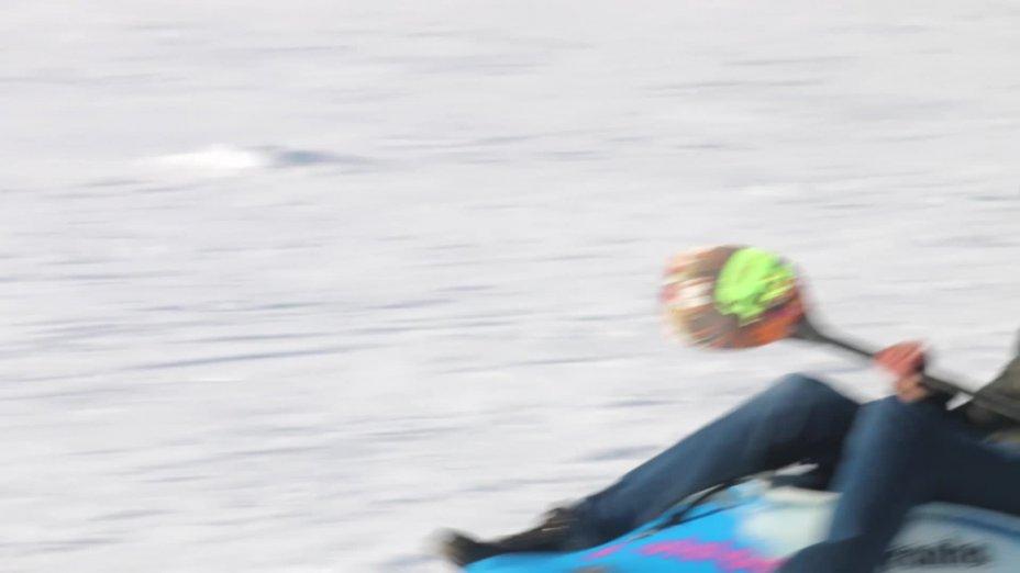 Snowboating - Schlagstein Winterwochenende 2019 Kanu Jugend NRW - Bezirk 4
