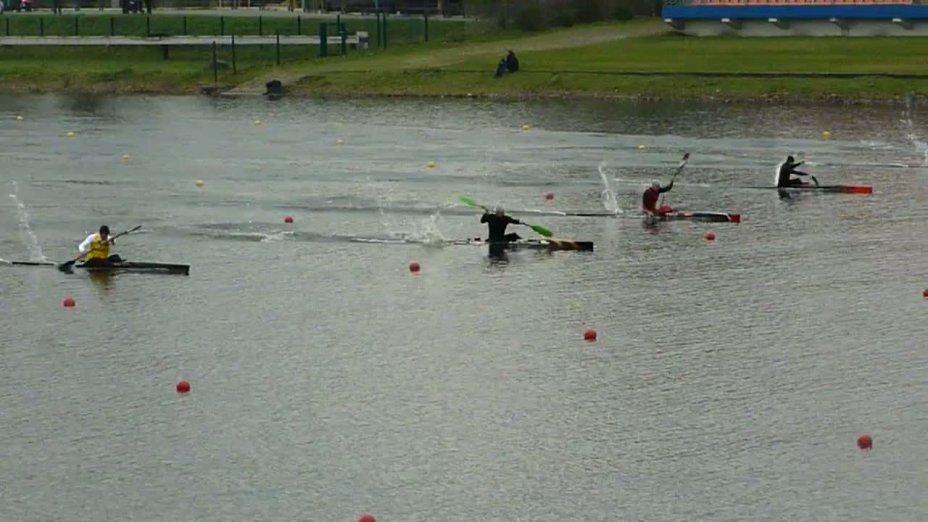 200m Finale Kajak-Herren - Erste Olympia-Qualifikation 04/2012