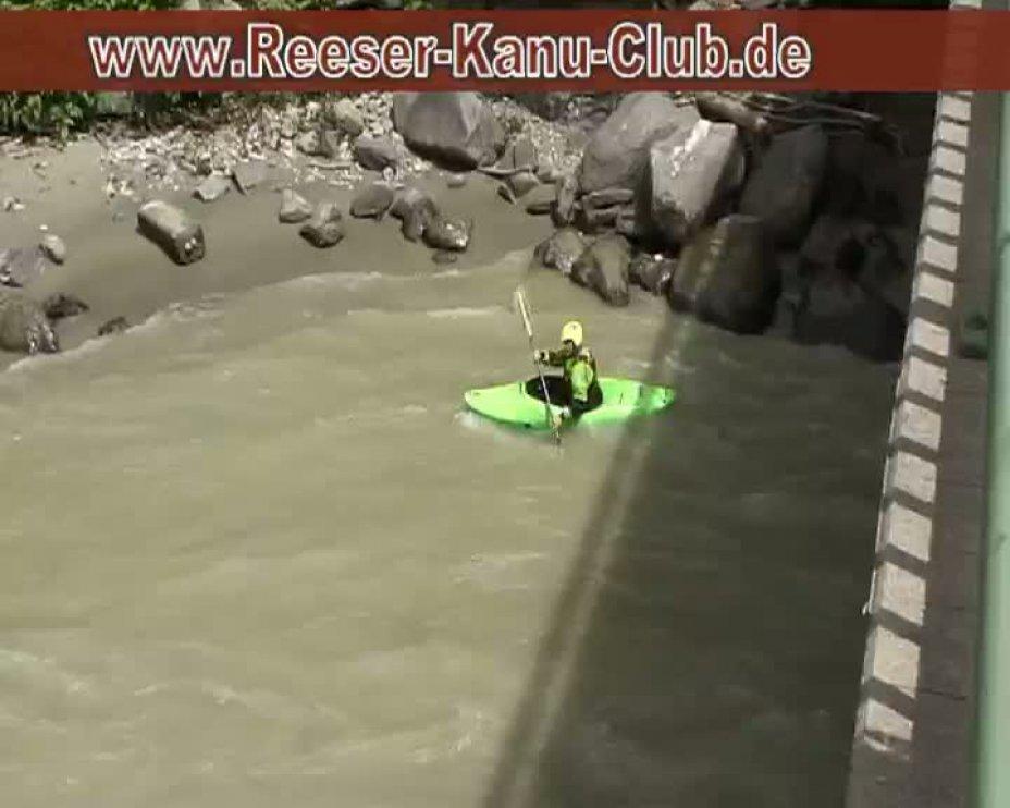 RKC - WildWasserWoche 2011 Lienz - Befahrung des Isel Abfall