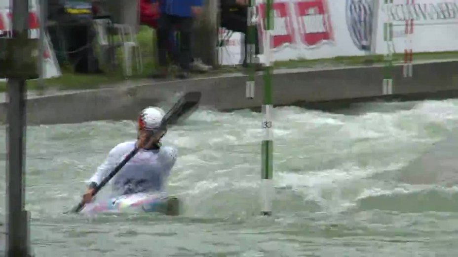Melanie Pfeifer - Quali 2015 |Rennen 4|K1-Damen-Finale / Augsburg