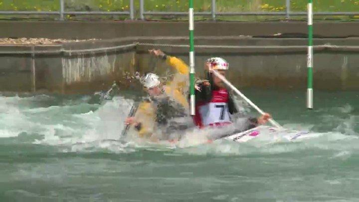 Schröder / Bettge - Quali 2015 |Rennen 2|C2-Herren-Finale / Markkleeberg