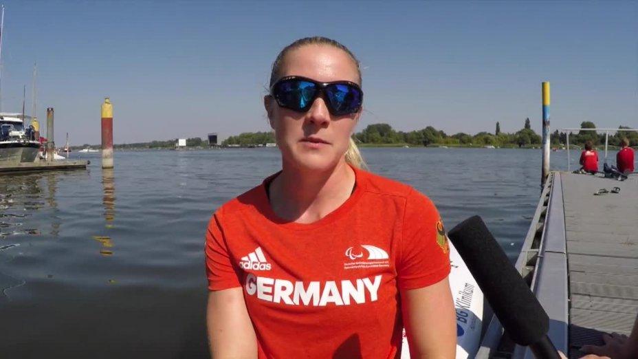 Edina Müller im Portrait vor den Paralympics