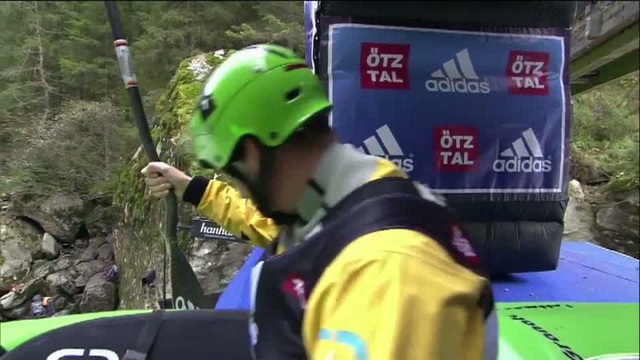 Sickline 2012 - Thilo Schmitt in seinem Finallauf auf der Wellerbrückenstrecke