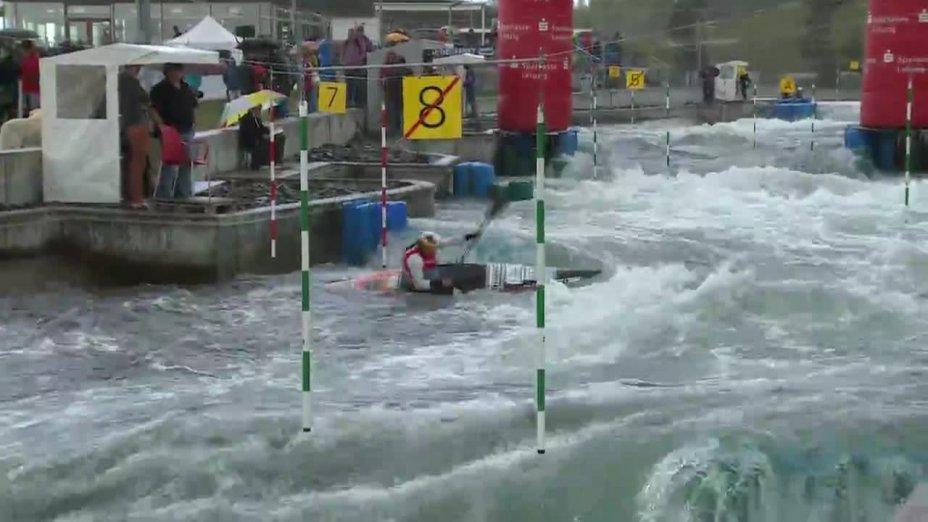 Ricarda Funk - Quali 2015 |Rennen 2|K1-Damen-Finale / Markkleeberg