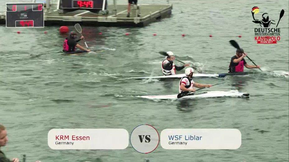 DM 2017 - Herren BL KRM Essen vs WSF Liblar