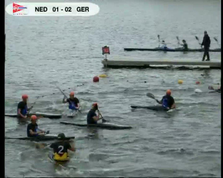Finale Deutschland gegen Niederlande beim 40. internationalen Deutschland Cup in Essen