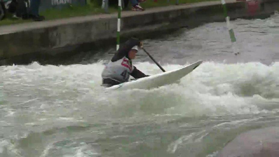 Karolin Wagner - Quali 2015 |Rennen 3|C1-Damen-Finale / Augsburg