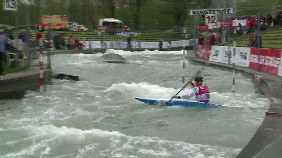 Florian Franzl - Quali 2015 |Rennen 3|K1-Herren-Finale / Augsburg