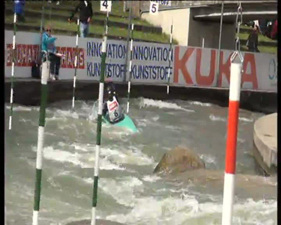 Katja Frauenrath Olympia-Quali 2012 A-Finale KD 21.04.2012