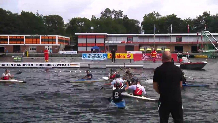 Kanupolo DM 2014 - KSV Havelbrüder - KRM Essen (Jugend Finale)