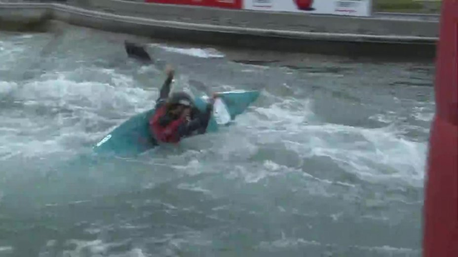 Leonie Meyer - Quali 2015 |Rennen1|K1-Damen-Finale / Markkleeberg