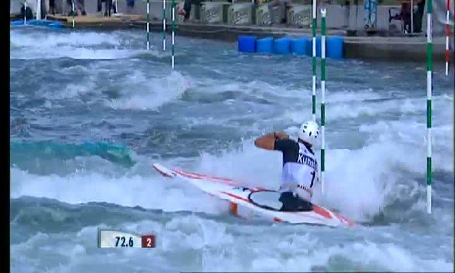 Finale Herren C1 beim Slalom World Cup in Markkleeberg