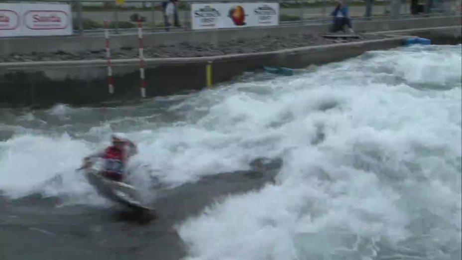 Anna Faber - Quali 2015 |Rennen1|K1-Damen-Finale / Markkleeberg
