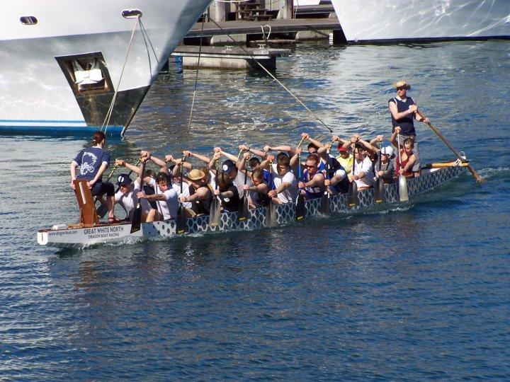Drachenboot Kapstadt