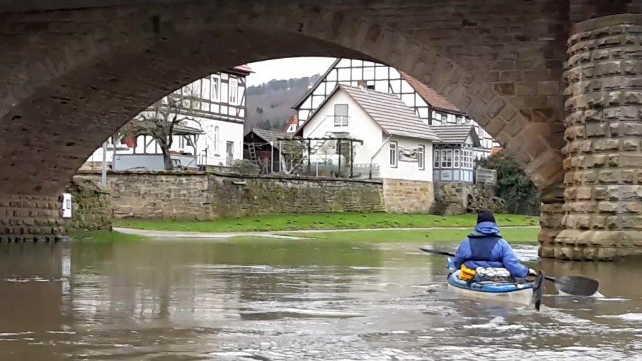 Wesertour  Hann. Münden - Gieselwerder