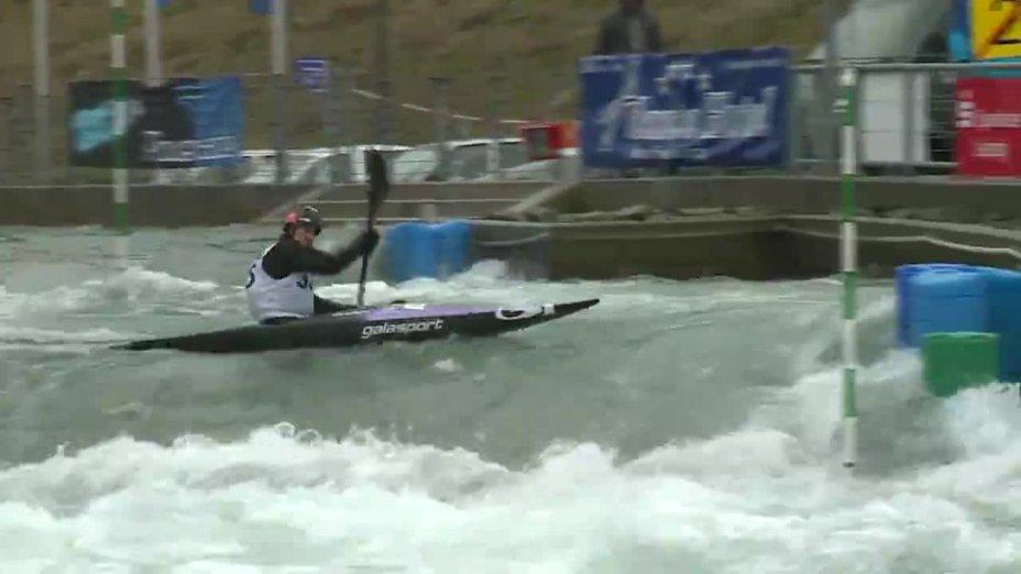 KUDEJOVA KATERINA - FINAL Run | 2015 ICF Canoe Slalom Ranking - Markkleeberg