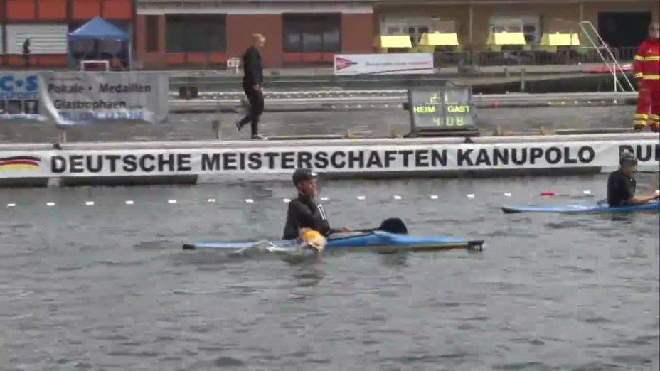 Kanupolo DM 2014 - KSV Havelbrüder - KRM Essen (Schüler Finale)