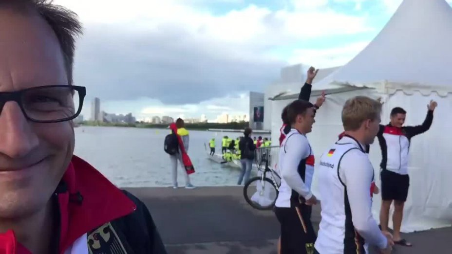 Drachenboot-WM: Warm-up der Junioren