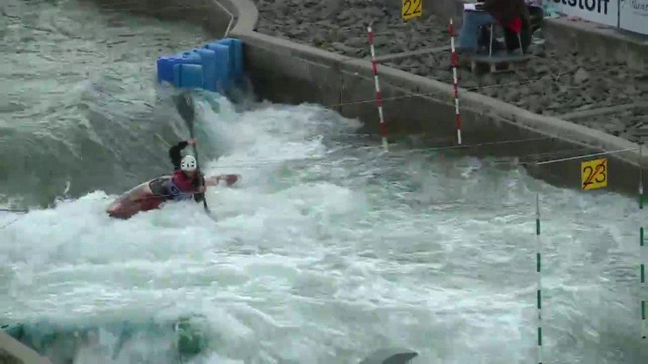 Ann-Kathrin Schwanholt - Quali 2015 |Rennen 2|K1-Damen-Finale / Markkleeberg