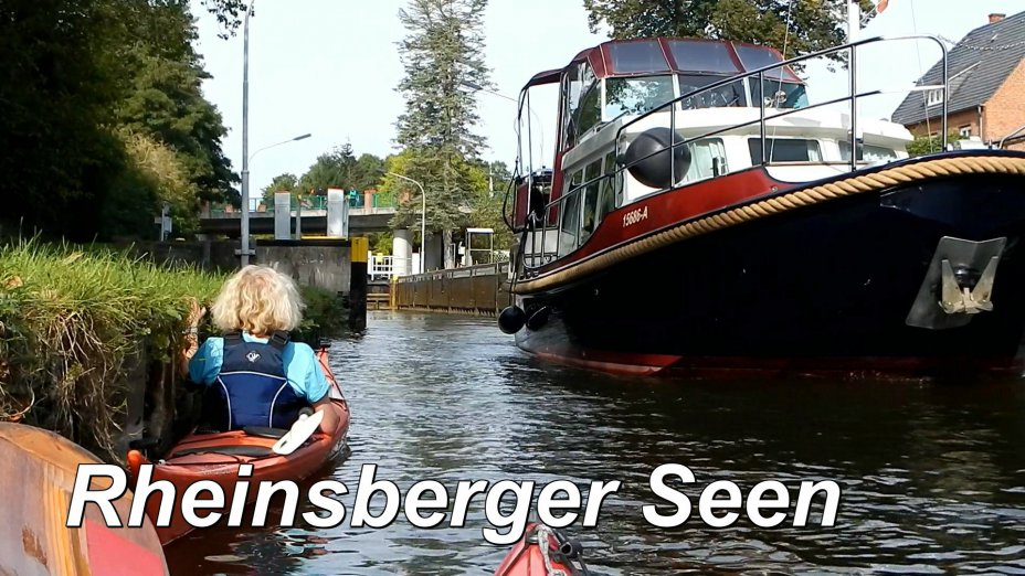 Rheinsberger Seen, Ferieninsel Tietzowsee, Müritz-Havel-Wasser-Strasse