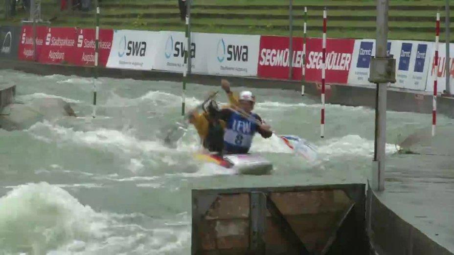 Schröder / Bettge - Quali 2015 |Rennen 4|C2-Herren-Finale / Augsburg