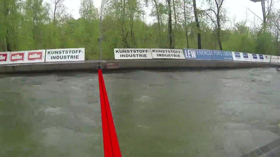 Finale 2 mit Kommentar von Peter Grube - Quali 2015 |Rennen 4| Augsburg / 03.05.2015