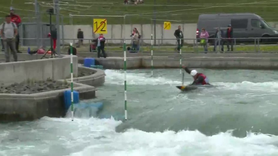 Sideris Tasiadis - Quali 2015 |Rennen1|C1-Herren-Finale / Markkleeberg