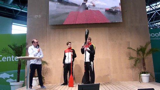 Yannic Lemmen und Simon Puttkammer auf der boot 2017