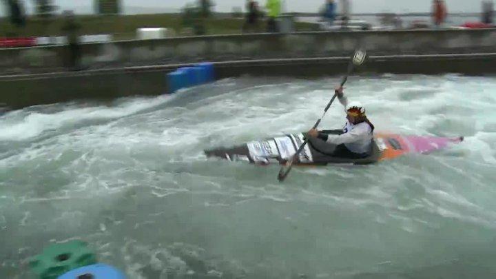Funk Ricarda - FINAL Run   2015 ICF Canoe Slalom Ranking - Markkleeberg