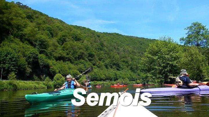 Flussfahrten auf Semois, Hautes-Rivieres bis Tournavaux