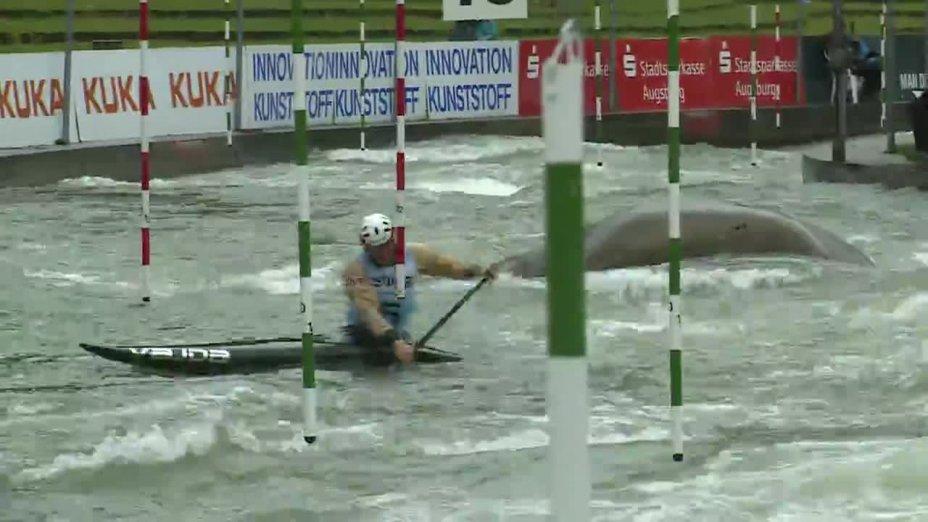 Nico Bettge - Quali 2015 |Rennen 4|C1-Herren-Finale / Augsburg