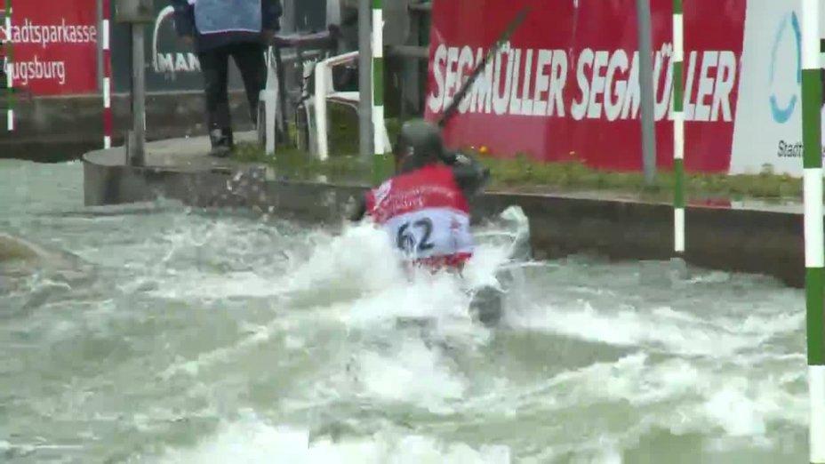 Fabian Schweikert - Quali 2015 |Rennen 3|K1-Herren-Finale / Augsburg