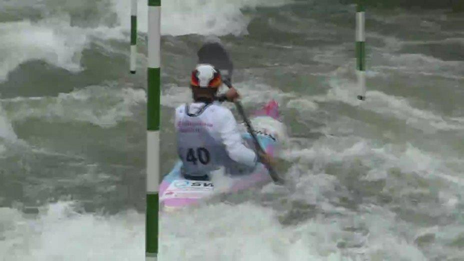 Melanie Pfeifer - Quali 2015 |Rennen 3|K1-Damen-Finale / Augsburg