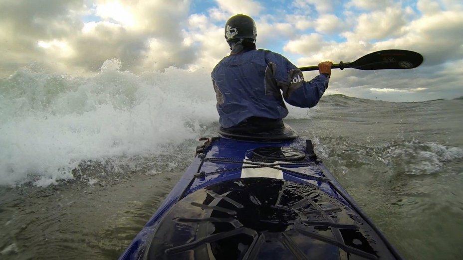 Sea Kayak Surf Session #2