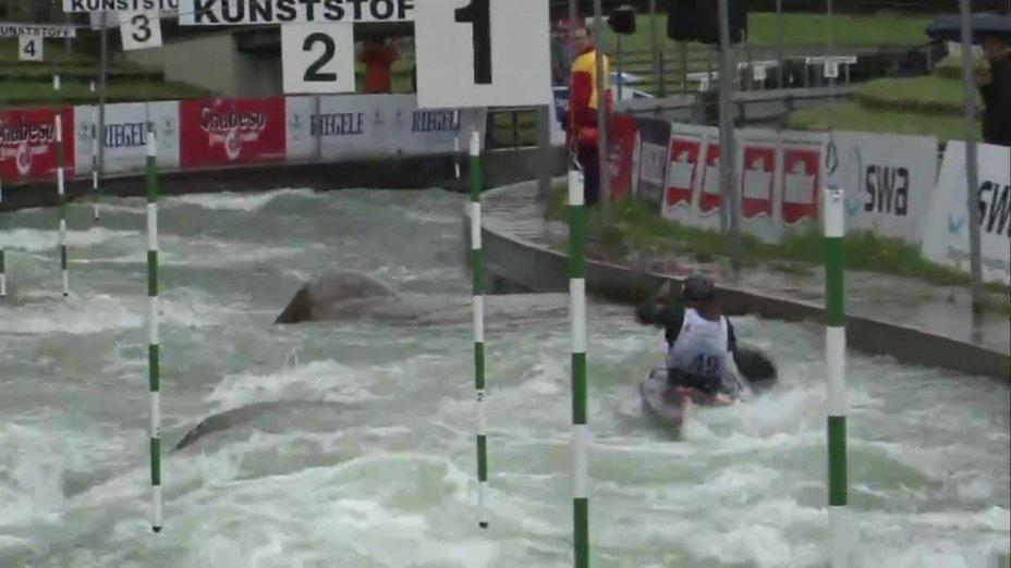 Rebecca Plonka - Quali 2015 |Rennen 4|K1-Damen-Finale / Augsburg