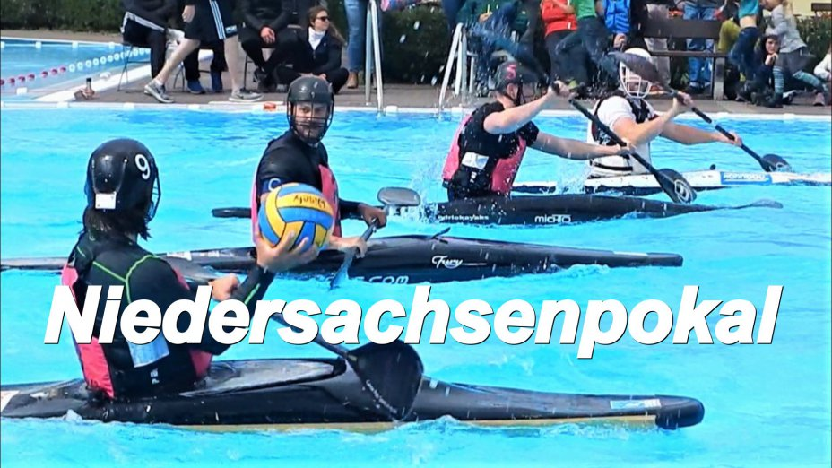 Niedersachsenpokal 2019, Kanupolo-Turnier in Göttingen, Herren-Finale, 2. Halbzeit.