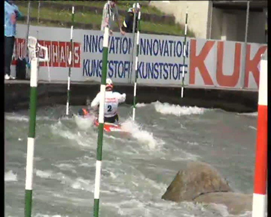Jan Benzien Olympia-Quali 2012 A-Finale C1M 21.04.2012