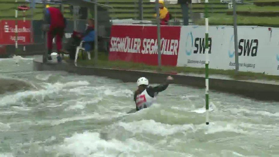 Franziska Hanke - Quali 2015 |Rennen 4|C1-Damen-Finale / Augsburg