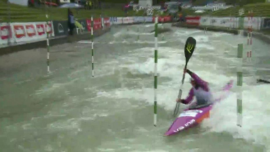Fee Maxeiner - Quali 2015 |Rennen 4|K1-Damen-Finale / Augsburg