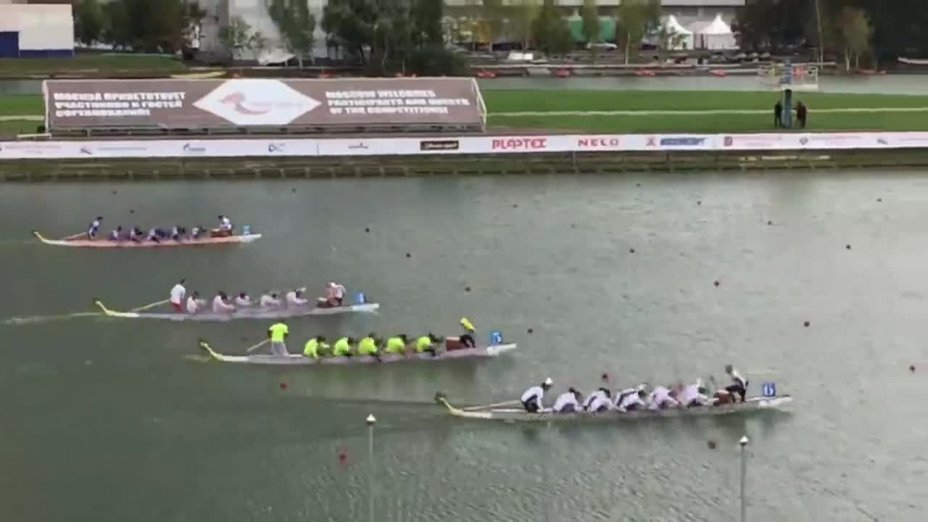 Drachenboot-WM: 10er Race männl. Junioren